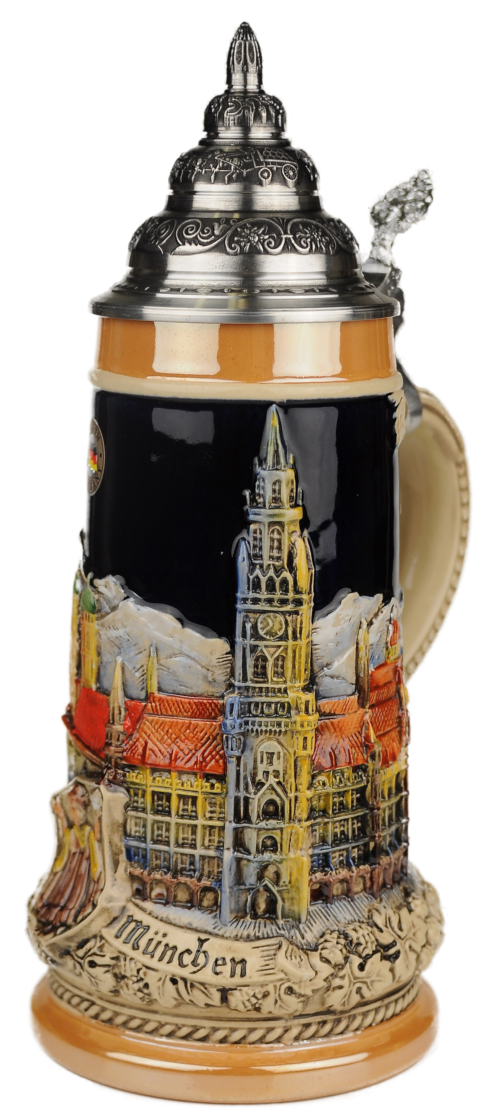 Beer Stein by King - Munich City Skyline LE