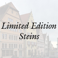 Authentic German Beer Stein Limited Editions