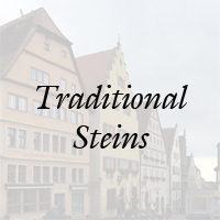 Authentic German Traditional Beer Steins