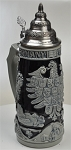 Beer Stein by King - Deutschland (Germany) CoA Salt Glazed German Beer Stein (Beer Mug) 0.75l