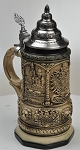 Beer Stein by King  Deutschland (Germany) Famous Landmarks CoA Beer Mug Rustic 0.4l Limited Edition