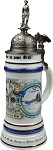 Beer Stein by King - Navy Historical Military Reserve Authentic German Beer Stein (Beer Mug) 1.0l