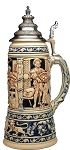 Beer Stein by King - King Collectors Edition Limitaet 2002 Authentic German Beer Stein (Beer Mug)