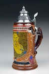Specialty Stein dedicated to our Troops who served in Iraq