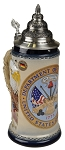 Beer Stein by King - US Army Coat of Arms Relief Authentic German Beer Stein (Beer Mug) .75l Limited