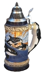 Beer Stein by King - Wildlife Orca Full Relief Beer Stein 0.75l Limited Edition Authentic German Beer Stein (Beer Mug) - Made in Germany