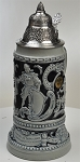 Beer Stein by King - Thewalt 1894 Fridolin The Drunken Son Relief Beer Stein (Beer Mug) .75l Limited