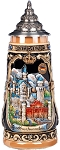 Beer Stein by King - Neuschwanstein Castle Beer Mug 0.5l Limited Edition