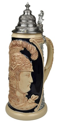 Beer Stein by King - Collectors Edition Limitaet 2009 Authentic German Beer Stein (Beer Mug) Limited