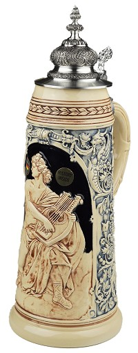 Beer Stein by King - Collectors Edition Limitaet 2012 Authentic German Beer Stein (Beer Mug) Limited