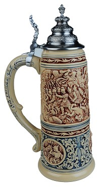 King Collectors Edition Limitaet 2016 German Beer Stein (Beer Mug) 2.0 Liter Limited Edition 2,500