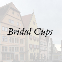 Authentic German Bridal Cups